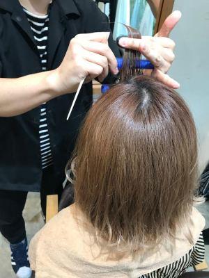 前髪パーマ10
