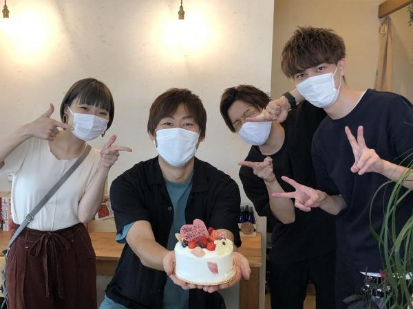 渡辺さん誕生日②