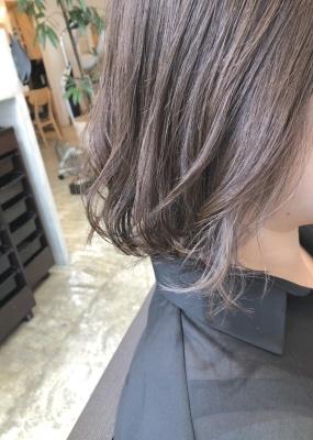 アディクシーカラー イルミナカラー 次世代カラー グレージュ アッシュ インナーカラー 美容室 髪型 大阪 寝屋川 枚方