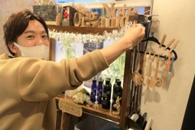 U-tract ユートラクト 寝屋川市 美容室 美容院 クリスマス ディスプレイ 飾付け  (2)